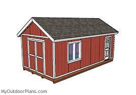 12x24 shed plans myoutdoorplans free woodworking plans and