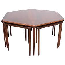 √ Silver Wood Coffee Table Steve Silver Barrett Rectangle