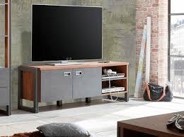 wohnzimmer tv kommode detroit tv lowboard 160cm stirling oak schiefer