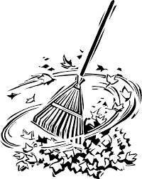 Leaves black and white raking leaves clipart black and white clipartfest