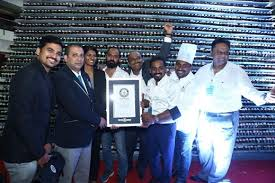 Preethi Kitchen Appliances With Food Consulate Entered The Guinness Book Of World Records For Building A 418 Feet Tower 18818 Cupcakes And Smashed