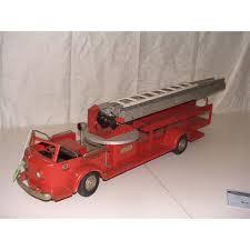 100 Metal Fire Truck Toy 32 Doepke La France 1950s Metal Fire Truck
