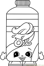 Free Color Pages Shopkins 16 Unique And Rare Coloring Of 2017