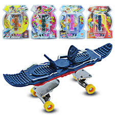 Funny FingerBoard Mini Rebound Finger Board Skate Trucks Tinger ...