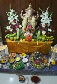 Varalakshmi Vratham Decoration Ideas by 60 Best Ganesha Gowri Puja Decoration Ideas Images On Pinterest