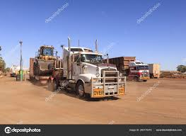 100 Big Blue Trucking Outback Australia Sky Red Dirt Rigs