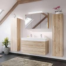badezimmer serie lissabon 02 in eiche hell selbst zusammenstellen