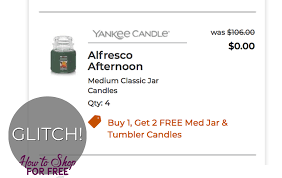 Yankee Candle Glitch! | How To Shop For Free With Kathy Spencer Free Walgreens Photo Book Coupon Code Yankee Candle Company Will Not Honor Their Feb 04 2018 Woodwick Candle Pet Hotel Coupons Petsmart Buy 3 Large Jar Candles Get Free Life Inside The Page Coupon Save 2000 Joesnewbalanceoutlet 30 Discount Theatre Red Wing Shoes Promo Big 10 Online Store 2 Get Free Valid On Everything Money Saver Sale Fox2nowcom Kurios Cabinet Of Curiosities Edmton Choice Jan 29 Retail Roundup Ulta Joann Fabrics