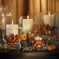 Candle Centerpieces For Alluring Dining Room Table