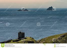 100 Bray Island Skellig S Seen From Head Valentia Ireland Stock