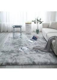 glitzfas shaggy teppich fürs wohnzimmer läufer für