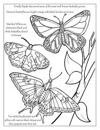 Personalized Big Bright Butterflies And Birds Coloring Book
