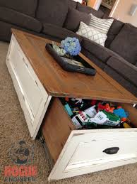 diy storage coffee table rustic coffee tables storage and coffee