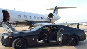 Drake A 10 Million Dollar Private Jet With King Size Bed