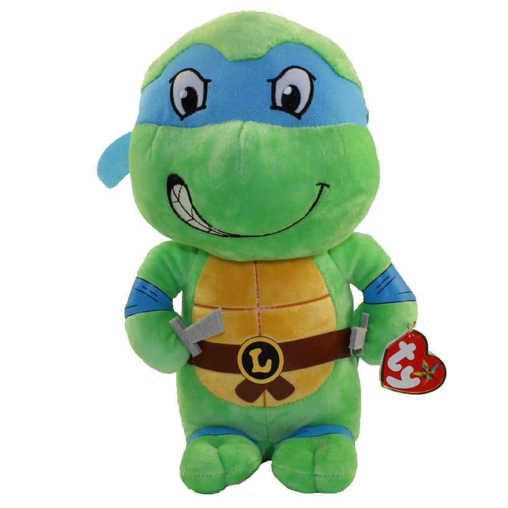 "Ty Leonardo-Teenage Mutant Ninja Turtles 13"" Plush"