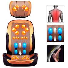 Massage Chair Pad Homedics by Massage Chair Massaging Chair Cushion With Heat Back Massager