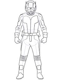 Ant Man Coloring Pages For Boys 13
