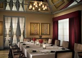 Noe Restaurant Private Dining Room Hospitality Design Of Omni Houston