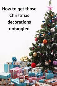 Flagpole Christmas Tree Uk by How To Untangle Christmas Lights Six Top Tips On Stress Free