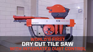Mk 170 Wet Saw Instruction Manual by World U0027s First Dry Cut Tile Saw The Iqts244 Youtube