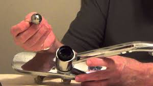 Moen Extensa Faucet Loose At Base by Fix Leaky Faucet Ball Style Single Handle Youtube