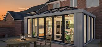 100 Conservatory Designs For Bungalows LeanTo Conservatories Lean To Ultraframe
