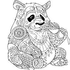 Mandala Feuille Tropical à Colorier Et à Imprimer Vousmême Etsy