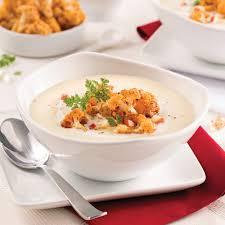cuisine chou potage de chou fleur au cidre de glace recettes cuisine et
