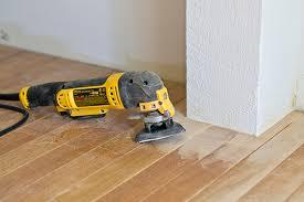 refinishing hardwood floors with a rental floor sander