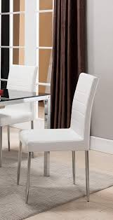 Amazon.com - K & B Furniture Belmont White Dining Chair - Set Of 4 ... Industrial Modern Tolix Style Bamboo White Alinum Ding Chairs Luna Room Contemporary Leatherette Height Set Of 2 Corliving Filia Chair Side Copper Grove Spicata Wood Armless Ebay Amazoncom Target Marketing Systems Tms Country Arrowback Fniture America Livada Ii Counter Cm3170wh Adderley Urbanmod By Leyden Antique Gdf Studio Wm String Nannie Inez Vida Living Louis Silver From