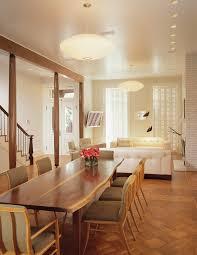 mid century modern lighting dining room modern with column dining