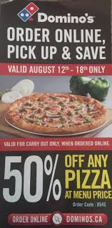 Domino's Pizza: 50% Off All Pizzas Until August 18 ... Dominos Get One Garlic Breadsticks Free On Min Order Of 100 Rs Worth 99 Proof Added For Pick Up Orders Only Offers App Delivering You The Best Promo Codes Free Pizza Pottery Barn Kids Australia 2x Tuesday Coupon Code Coupon Codes Discount Vouchers Pizza 6 Sep 2013 Delivery Domino Offer Code Special Seji Digibless Canada Coupoon 1 Medium 3 Topping Nutella In Sunday Paper Poise Pad Coupons Lava Cake 2018 Barilla Pasta 2019