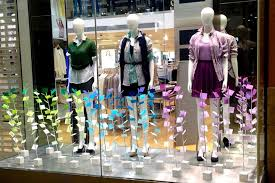 UNIQLO Spring Windows And In Store Displays 2014 By Elemental Design London Window Display RetailRetail
