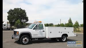 100 Utility Truck For Sale 2001 GMC 3500HD 11 For Sale By Site YouTube