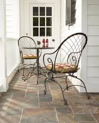Jaclyn Smith Patio Furniture Replacement Tiles by Jaclyn Smith Cherry Valley Bistro Spring Chairs Kmart