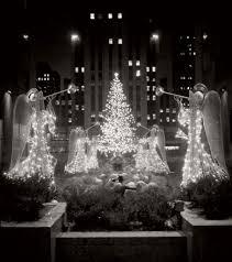 Christmas Tree Rockefeller Center Lighting by Vintage Images Of Rockefeller Center Christmas Tree In New York