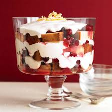 Pumpkin Mousse Trifle by Cranberry Trifle