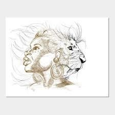 Lion Queen Wall Art