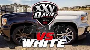 Black VS White Custom 2014 Sierra Accessories In Alberta At Davis ...