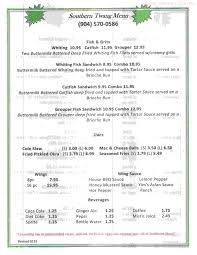 Online Menu Of Southern Twang Restaurant, Jacksonville, Florida ...