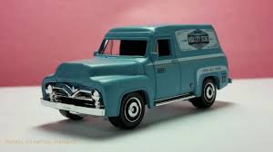 100 1955 Ford Panel Truck F100 Delivery YouTube