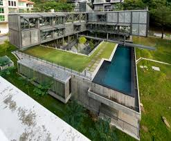 100 Cantilever Homes House A Huge Industrial Residence Built On A Slope Near