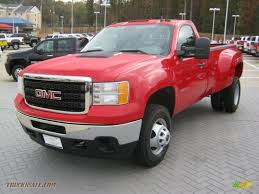 2012 GMC Sierra 3500HD Regular Cab 4x4 Dually In Fire Red - 130511 ... 2011 Gmc Sierra 3500 Denali Hd Lifted Dually Trucks For 2000 Gmc 1 Ton Diesel For Saleabsolutely Inside 1950 Pickup Jim Carter Truck Parts Allnew Duramax 66l Is Our Most Powerful Ever 3500hd Wins Best Overall 2007 Classic Sle1 Biscayne Auto Sales Preowned 1990 K3500 K30 4x4 Dually Ton Cummins Diesel 5 Speed Manual No 1994 Dually Truck Sale In Rigby Idaho United States Gm Unveils 2019 Slt Pickup Mega X 2 6 Door Dodge Door Ford Chev Mega Cab Six Debuts Before Fall Onsale Date Sle Xtra