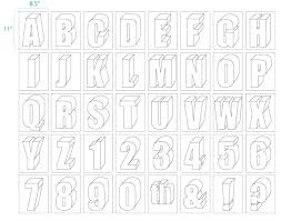 How To Draw 3d Letters Block Letter Font How To Draw 3d Graffiti