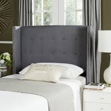 Roma Tufted Wingback Headboard by Winged Headboard U2013 Clandestin Info