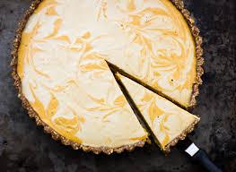 Smitten Kitchen Pumpkin Marble Cheesecake by Kinda Raw Marbled Pumpkin Tart Grain Free And Vegan U2022 The Bojon