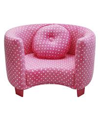 Look At This Pink Dots Comfy Kids Armchair On #zulily Today ... Childrens Armchair Lounge Pug Kids Bean Bags Uk Cord Mocha Brown Blue And Pink Floral Sofas Amazoncom Chairs Hcom Sofa Lying Recliner Pu Leather Pong Armchair Birch Veneeralms Natural Ikea Disney Mickey Mouse Upholstered Chair Amazoncouk Baby Chairs Bedroom Fniture Little Lucy Fabric Seat Stool Tub Black Chester