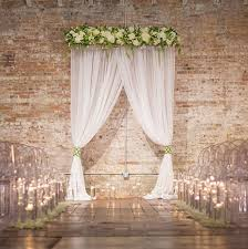 20 Eye Catching Ideas For Your Ceremony Backdrop Wedding
