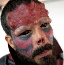 Guy Goes Through A Lot Of Trouble To Look Like The Red Skull