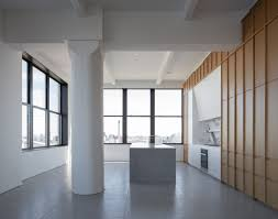 100 Clocktower Apartment Brooklyn Renovated Minimal Penthouse By Worrell Yeung Tops Dumbos